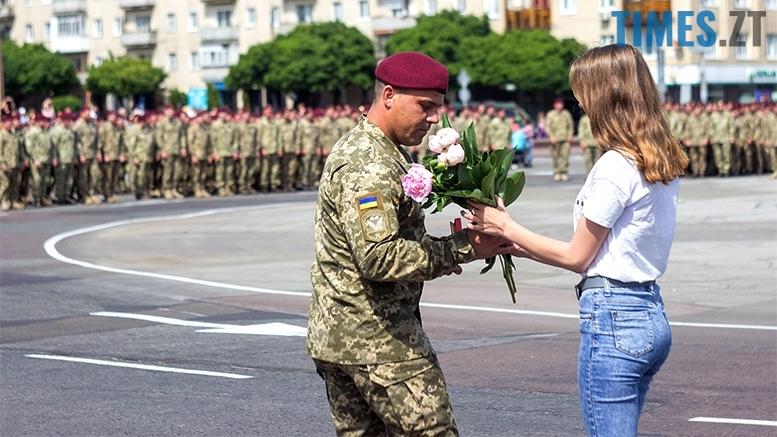 имени 29 - Житомиряни зустріли героїв, які повернулися із зони бойових дій