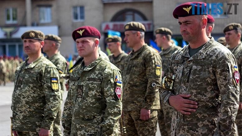 имени 4 3 - Житомиряни зустріли героїв, які повернулися із зони бойових дій
