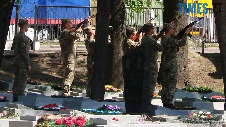 3 - У Богунському районі вшанували пам'ять героїв двох воєн