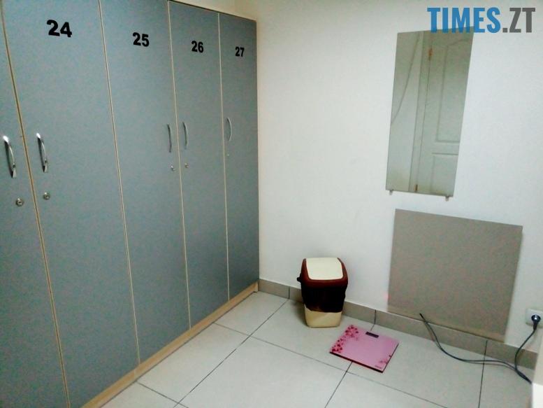 Тренажерний зал Адреналін - роздягальня | TIMES.ZT