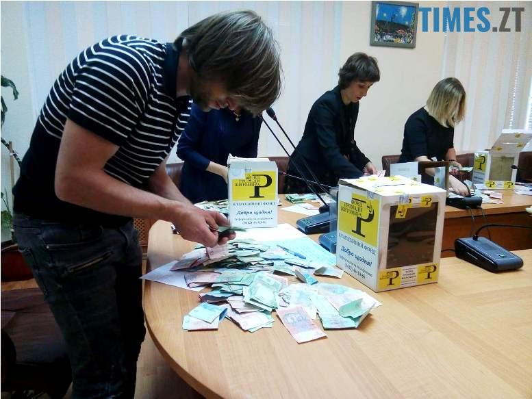 2 9 - У Житомирі порахували гроші, які зібрали на «порятунок» літака Ту-104