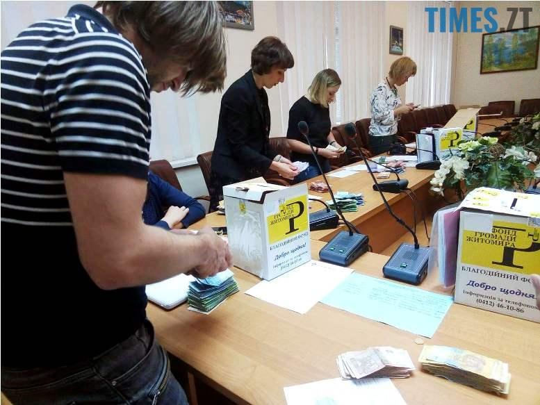 3 7 - У Житомирі порахували гроші, які зібрали на «порятунок» літака Ту-104