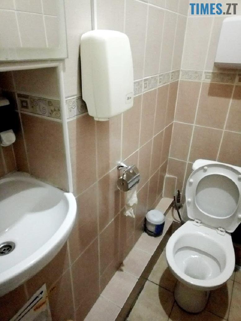 Тренажерний зал Східний - туалет | TIMES.ZT