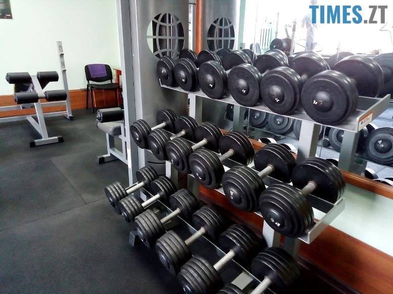 Тренажерний зал Фортуна - обладнання | TIMES.ZT