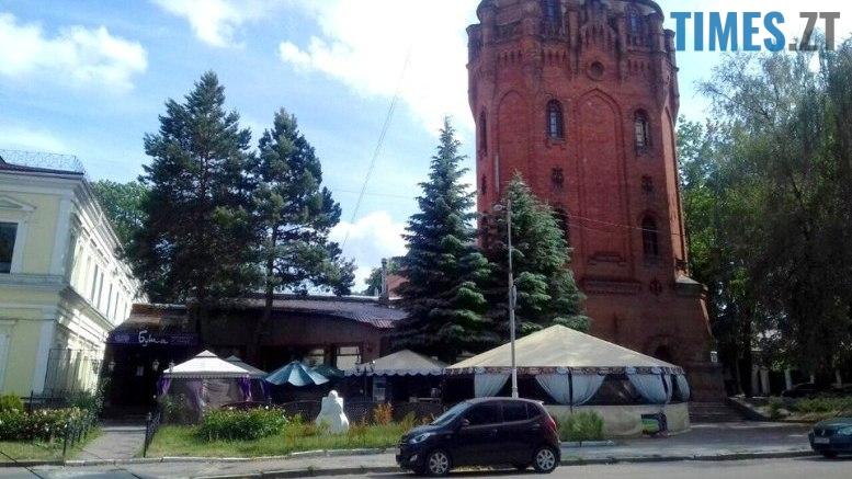 6 - Вибухи біля старої водокачки у Житомирі: поліція каже, що це не теракт
