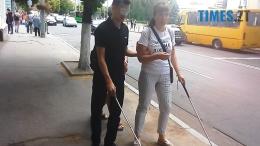 1 3 260x146 - Навіщо Дмитро Ткачук та Вікторія Краснопір вдавали у Житомирі сліпих? (відео)