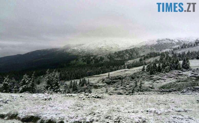 1 - Літо таки аномальне: у Житомирі осіння погода; у Карпатах сніг