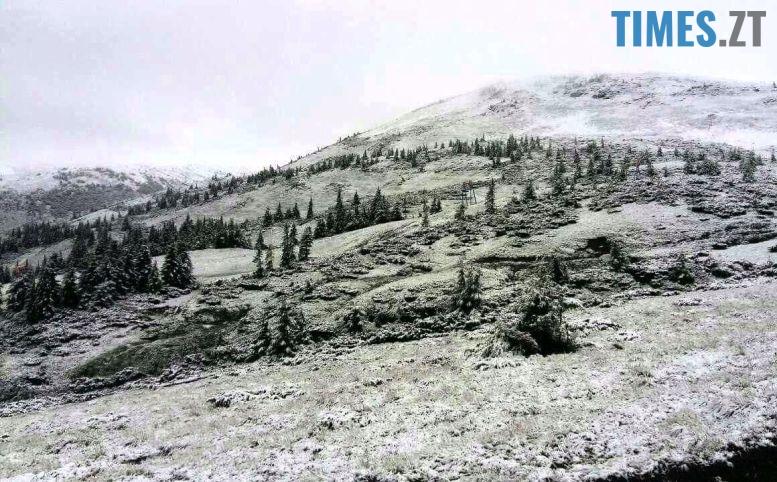 2 - Літо таки аномальне: у Житомирі осіння погода; у Карпатах сніг