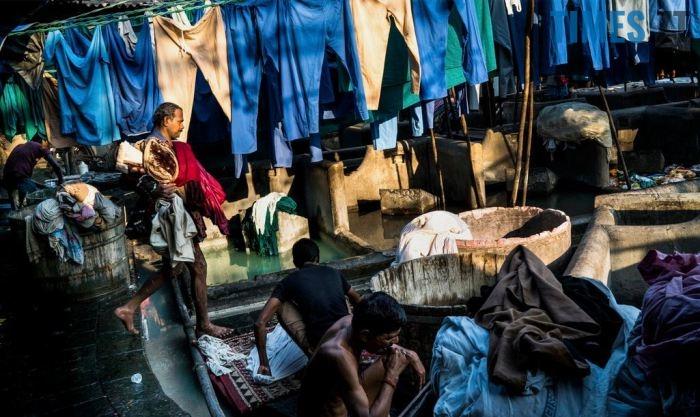 Громадська пральня в Індії, Варанасі | TIMES.ZT