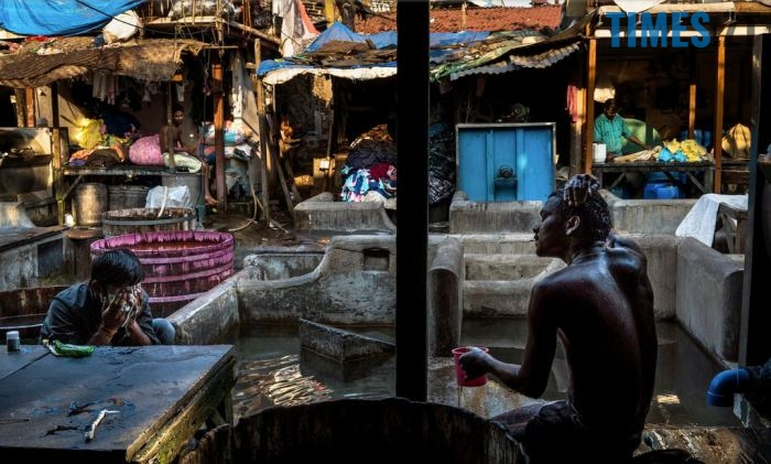 Громадська пральня в Індії | TIMES.ZT