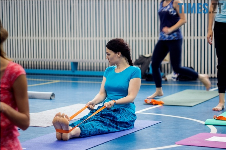 IMG 0077 - «Заснути на цвяхах»: у Житомирі пройшов День йоги