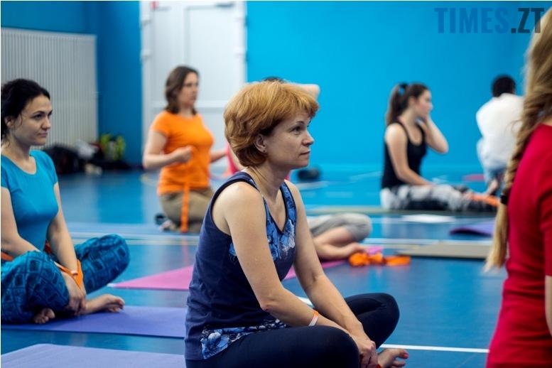 IMG 0098 - «Заснути на цвяхах»: у Житомирі пройшов День йоги