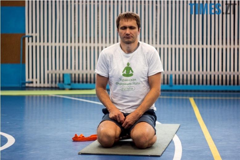 IMG 0119 - «Заснути на цвяхах»: у Житомирі пройшов День йоги