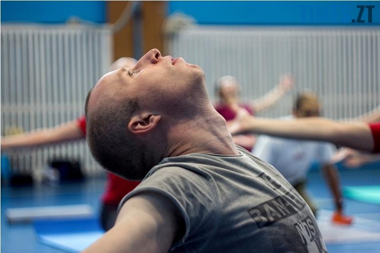 IMG 0128 - «Заснути на цвяхах»: у Житомирі пройшов День йоги