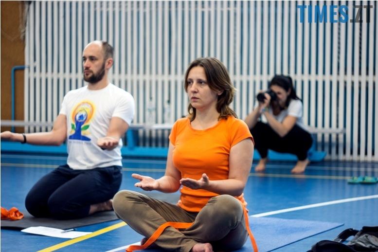 IMG 0147 - «Заснути на цвяхах»: у Житомирі пройшов День йоги