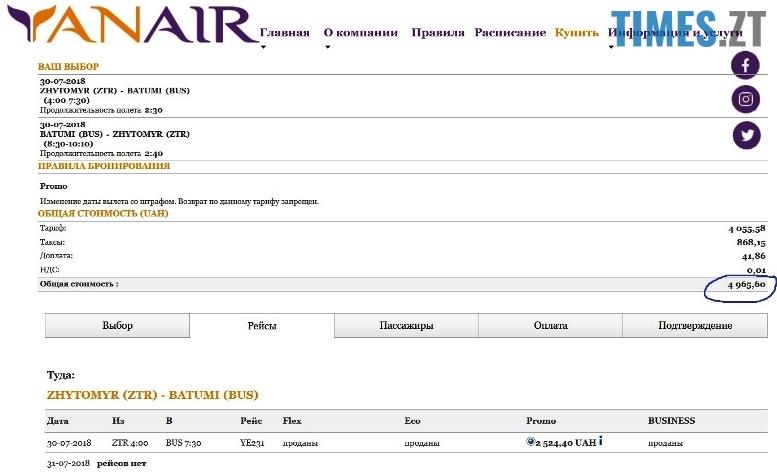 IMG 5 - Погані новини: всі квитки на літо з аеропорту «Житомир» вже продані