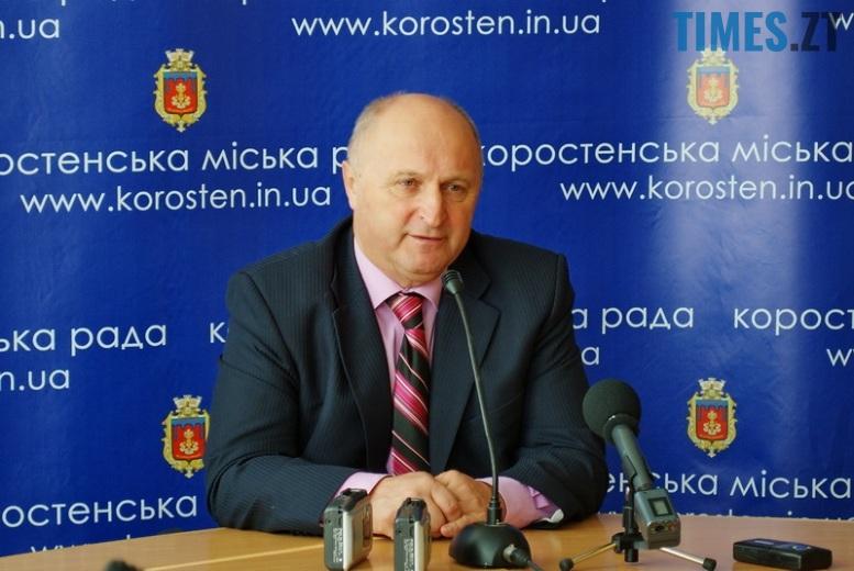 Photo2 - Мер Коростеня Володимир Москаленко: «Ми ідеологічно мерзопакосні у цій державі…»
