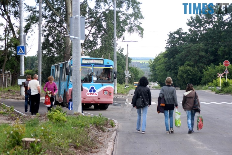 4 1 - На новій лінії за 4 млн. грн. їздять порожні тролейбуси