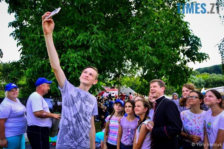 Римо-католики поломники в Бердичев
