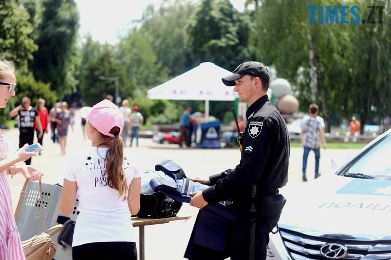 IMG 6772 - День патрульної поліції – чи сумнівний атракціон для дітей?