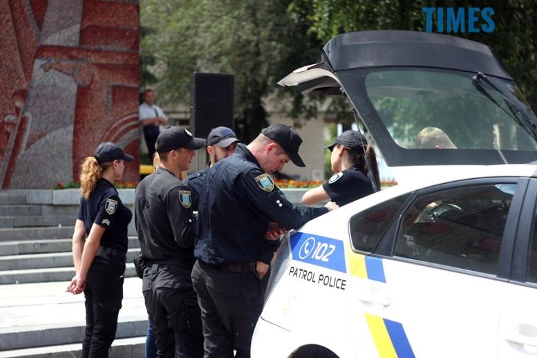 IMG 6779 1 - День патрульної поліції – чи сумнівний атракціон для дітей?