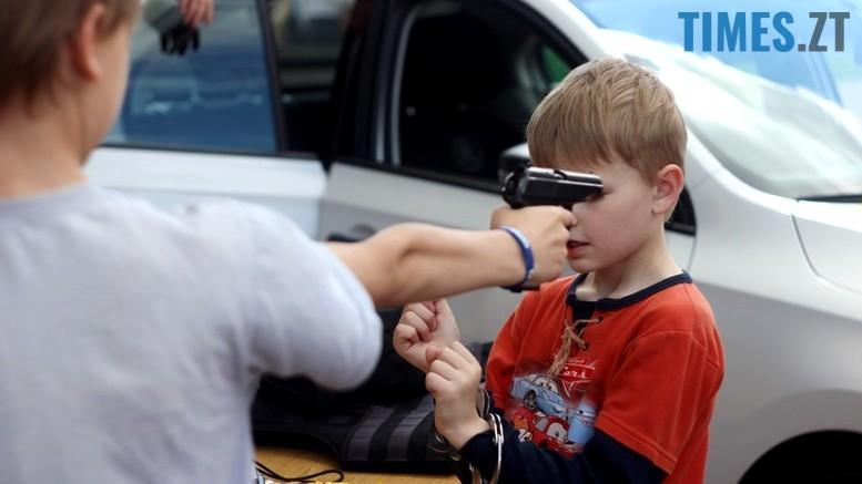IMG 6792 - День патрульної поліції – чи сумнівний атракціон для дітей?