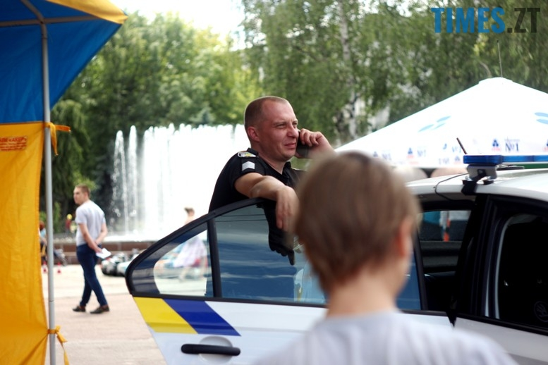 IMG 6793 - День патрульної поліції – чи сумнівний атракціон для дітей?