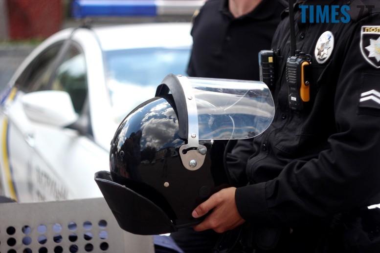 IMG 6810 - День патрульної поліції – чи сумнівний атракціон для дітей?