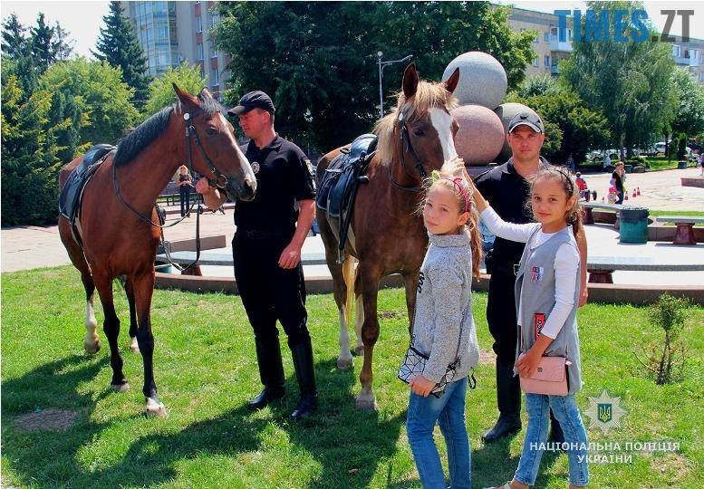 IMG 7541m - День патрульної поліції – чи сумнівний атракціон для дітей?