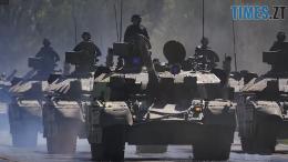 260x146 - Під Житомиром провели підготовку до військового параду на День Незалежності (ВІДЕО)