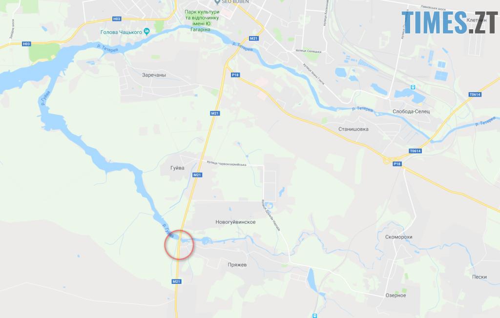 23 22 14 1024x652 - На Бердичівській трасі зіткнулись два легковики: загинув чоловік