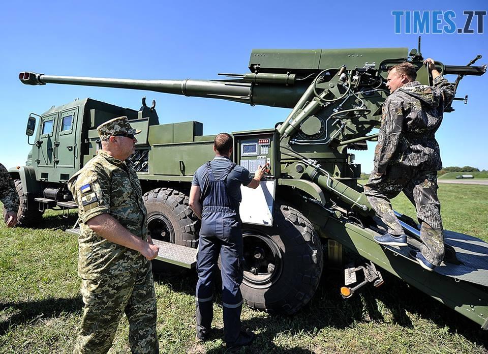 38914331 1335540126579936 6093654781581066240 n - На Житомирському військовому полігоні випробували новітню зброю (ФОТО)