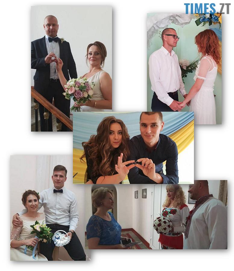 col1 - На восьмому небі: В Житомирі одружилися 30 пар на щасливу дату 8.08.18