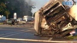 stavyshe prev 260x146 - На Житомирській трасі фура протаранила два авто і загорілася: загинули дві людини (ФОТО)