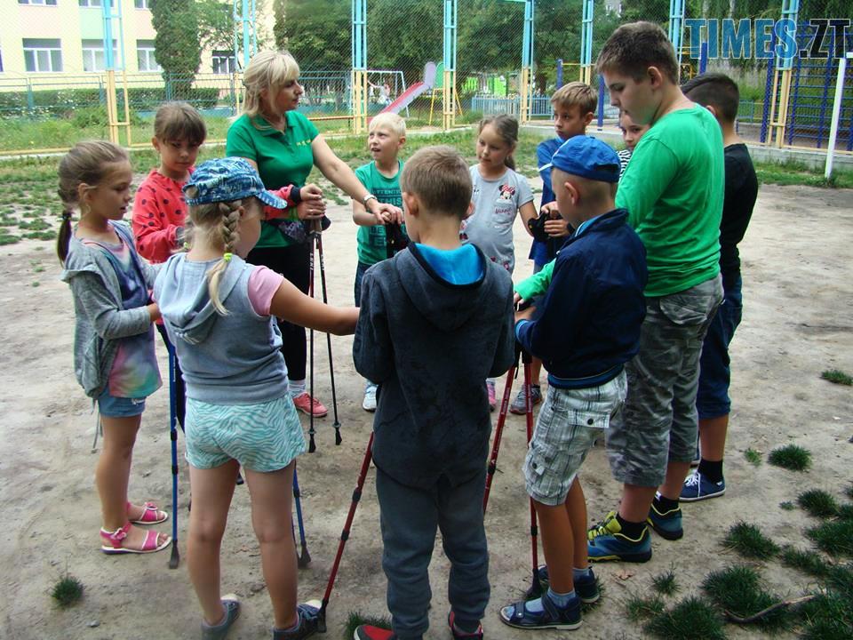 перед тренуванням - У Житомирі відбудуться перші змагання зі скандинавської ходьби (ФОТО)