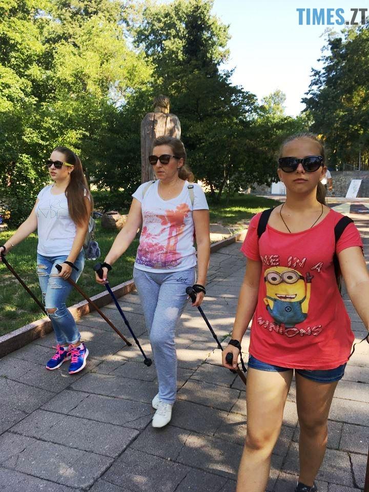 час тренування - У Житомирі відбудуться перші змагання зі скандинавської ходьби (ФОТО)