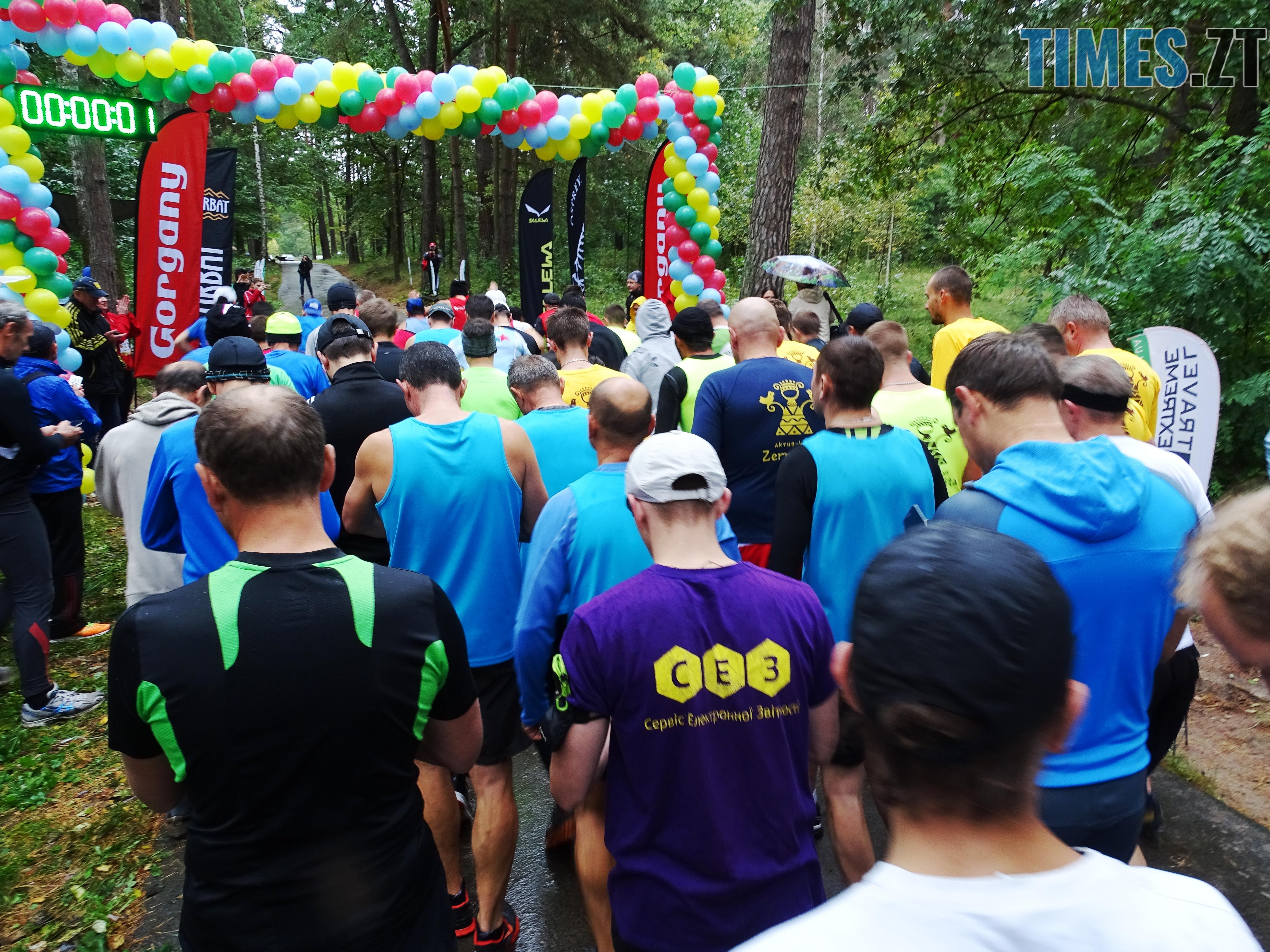 учасників на 10 км - У Житомирі відбулися змагання з кросу «Поліська осінь – 2018» (ФОТО)