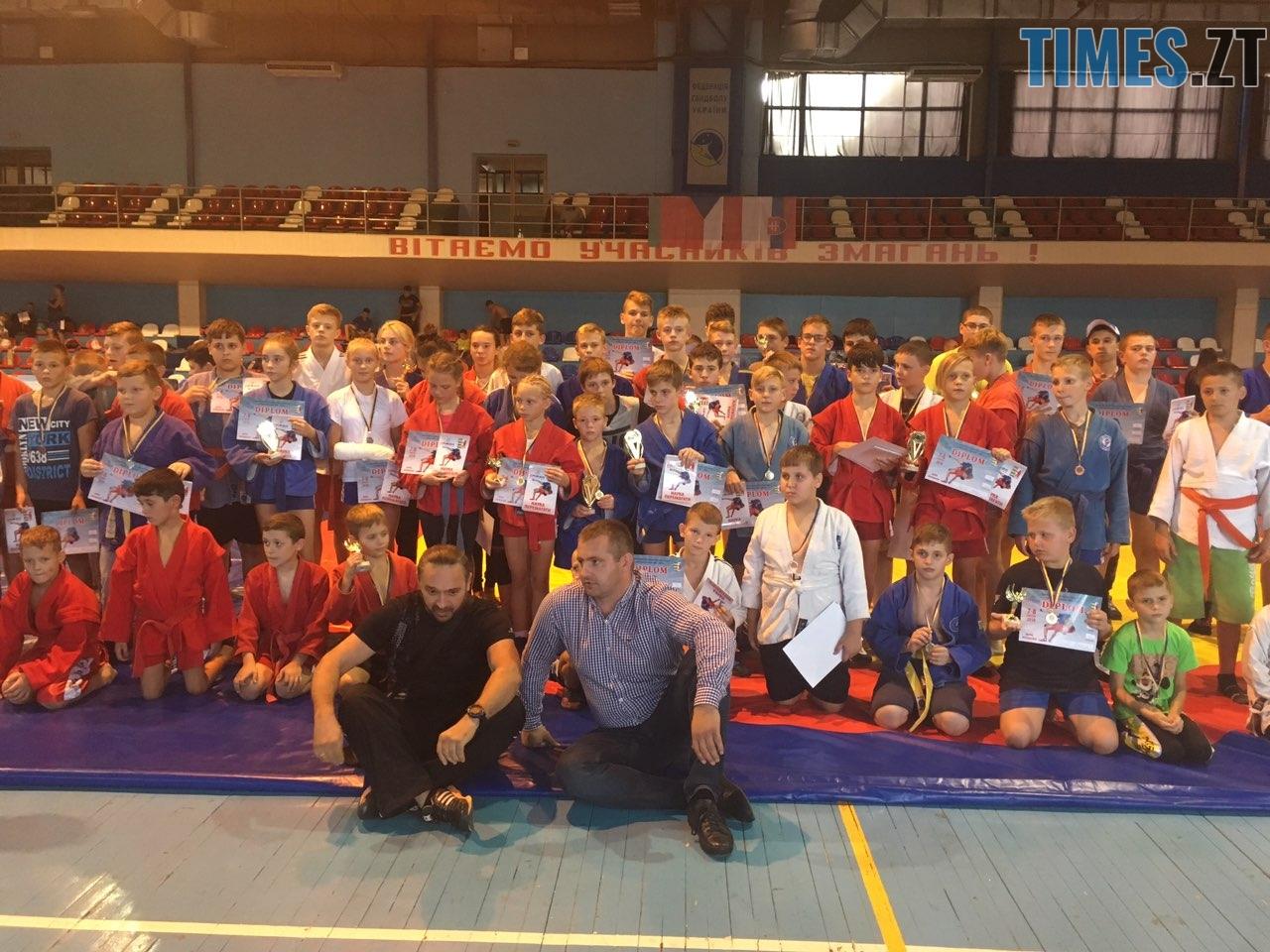 1 разом - Житомирські самбісти вибороли чотири золоті нагороди в Ужгороді