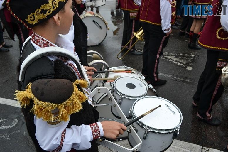 23 - Танцюють діти у калюжах, оркестри грають під дощем: День Житомира–2018 (ФОТО, ВІДЕО)