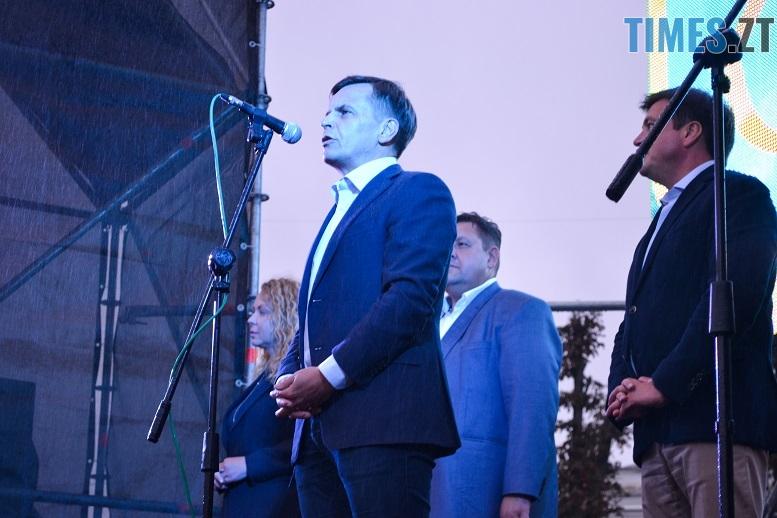 27 - Танцюють діти у калюжах, оркестри грають під дощем: День Житомира–2018 (ФОТО, ВІДЕО)