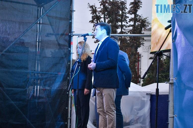 28 - Танцюють діти у калюжах, оркестри грають під дощем: День Житомира–2018 (ФОТО, ВІДЕО)