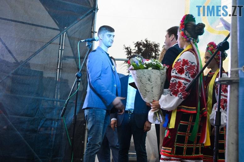 33 - Танцюють діти у калюжах, оркестри грають під дощем: День Житомира–2018 (ФОТО, ВІДЕО)