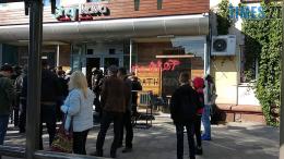 260x146 - У Житомирі активісти С14 втрапили у бійку в залі суду, а потім влаштували акцію проти житомирської кав'ярні