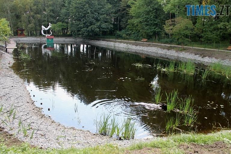 1aaaagrogroshi2 - За понад півтора мільйона гривень в Ботанічному саду відновили водойми (ФОТО)
