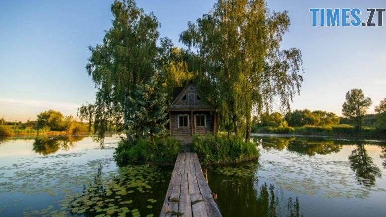 2165781 800x600 house in the lake near kyiv ukraine 1 - В Україні з'явиться поштова марка з туристичною родзинкою Житомирщини