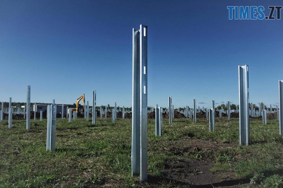 42528643 2032906963426382 2223458308046454784 n - На Житомирщині почали будівництво сонячної електростанції за 17 мільйонів євро (ФОТО)