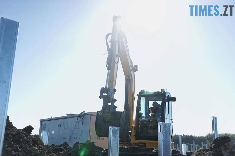 42532442 2032906866759725 5421695109328535552 n - На Житомирщині почали будівництво сонячної електростанції за 17 мільйонів євро (ФОТО)