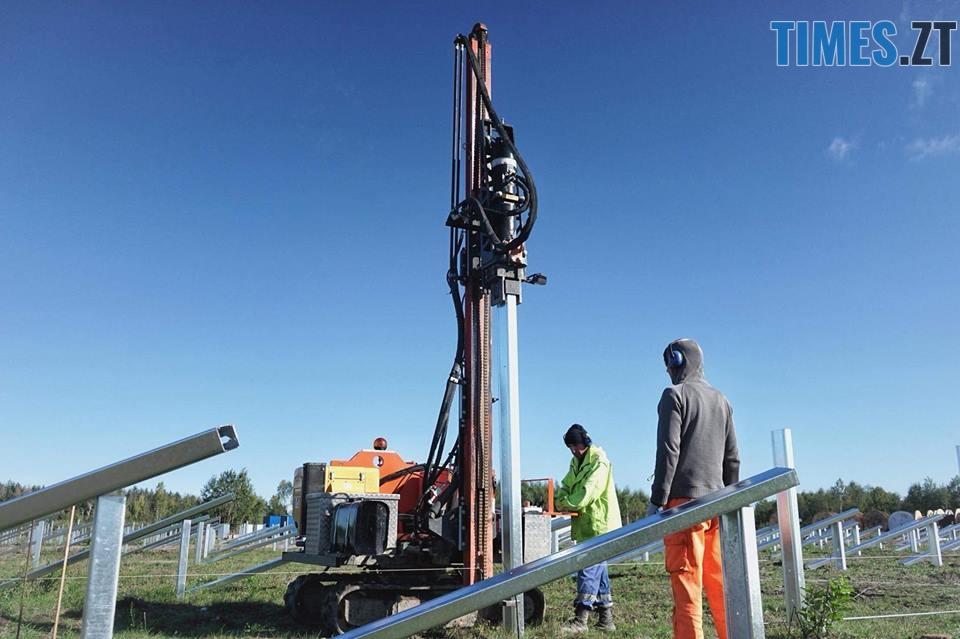 42535591 2032906853426393 1807892124482404352 n - На Житомирщині почали будівництво сонячної електростанції за 17 мільйонів євро (ФОТО)