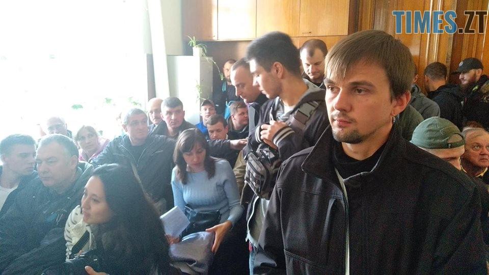42719825 1910338919042836 2623032958272929792 n - У Житомирі активісти С14 втрапили у бійку в залі суду, а потім влаштували акцію проти житомирської кав'ярні