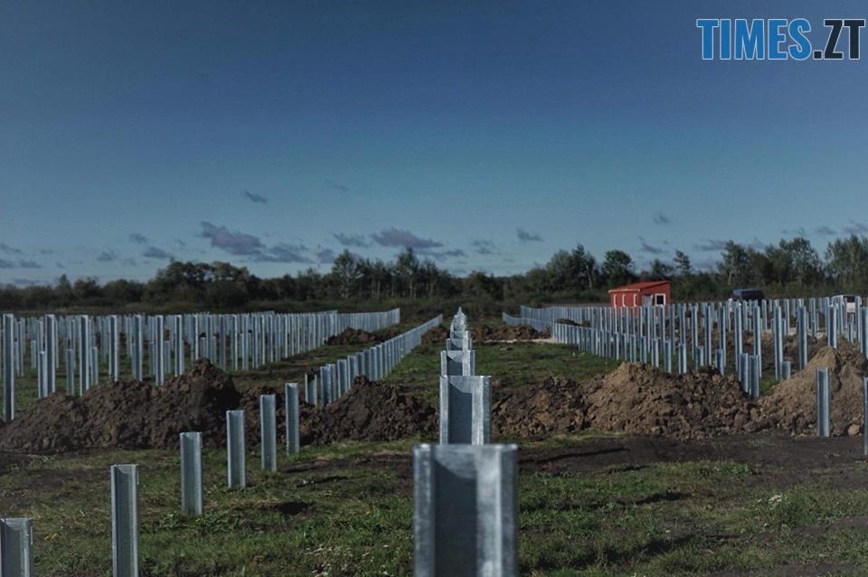 42724899 2032906783426400 7216022249621422080 n - На Житомирщині почали будівництво сонячної електростанції за 17 мільйонів євро (ФОТО)